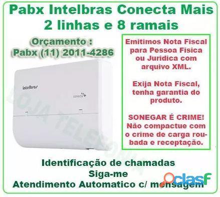INSTALAÇÃO DE PABX DIGITAL INTELBRAS IMPACTA 2