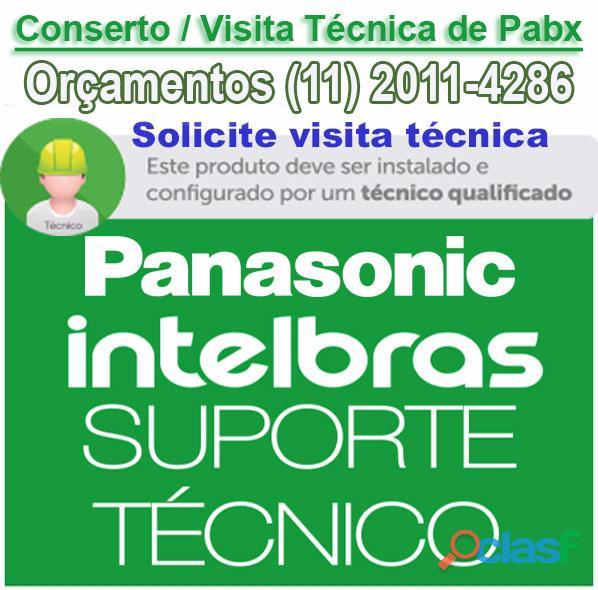 INSTALAÇÃO DE PABX DIGITAL INTELBRAS IMPACTA 6
