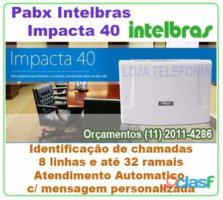 Vendas de PABX INTELBRAS SISTEMA DIGITAL IMPACTA 1