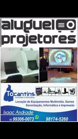 Locação Datashow Projeção Telão Data show Projetor Tela 0