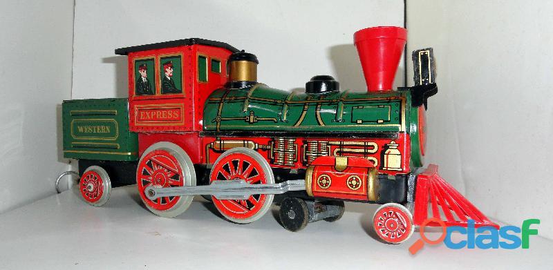 Locomotiva da Modern Toys, na caixa original. Raríssima. 1