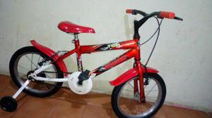 Bicicleta aro 16 Mormaii semi nova 0