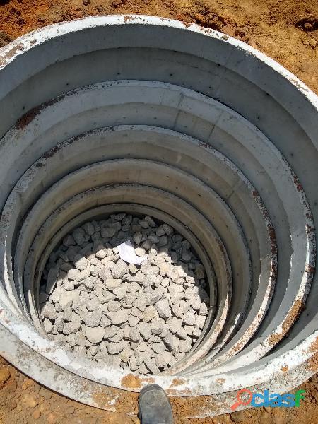 Fossa séptica e normal, poço caipira, cisterna etc 1
