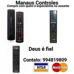 A Maior variedade de Controle remoto em Manaus 0