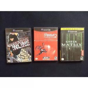 Jogos Gamecube Wii Lote 0