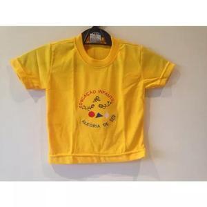 Uniforme Camisetas Infantil Educação De Ser Queima Estoque 0