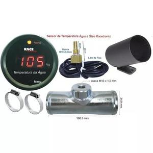 Kit Adaptador E Sensor Água Digital Racetronix Copo 0