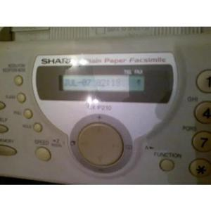 Fax Sharp Ux P210 0