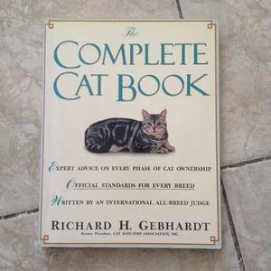 Livro The Complete Cat Book - Richard H. Gebhardt 1991 C2 0