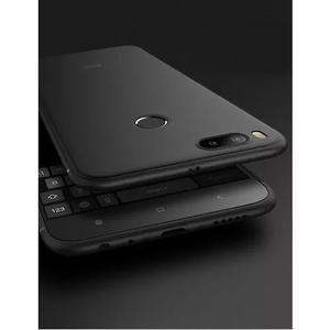 Case Silicone Slim Fina Fosca Xiaomi Mi A1 5x + Pelicula Gel 0