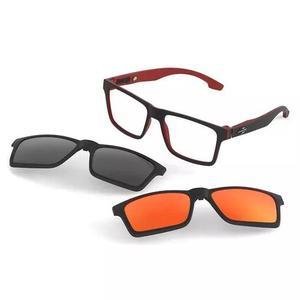 Armação Oculos Grau Mormaii Swap M6057aa956 Clip On 0