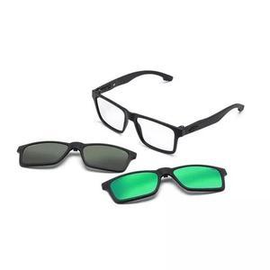 Armação Oculos Grau Mormaii Swap M6057ace56 Clip On 0
