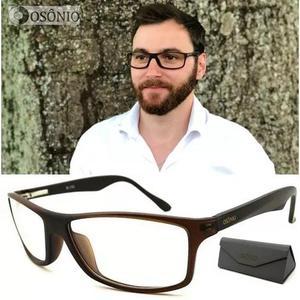 Armação Óculos Grau Masculino Os46 Original Osônio 0