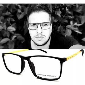Armação Óculos Grau Masculino Porshe P8298 Original 0