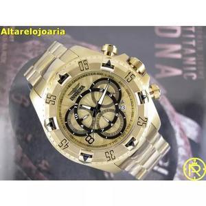 Relógio Invicta Excursion 24263 Plaque Ouro S U Í Ç O 0