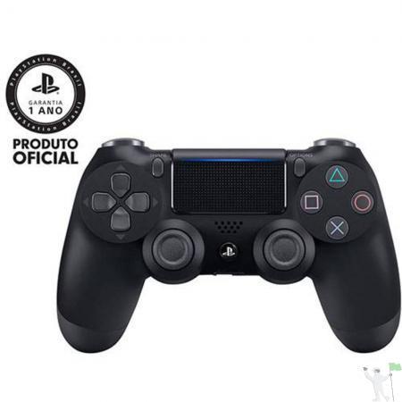Controle Sem Fio Dualshock 4 Sony Ps4 - Preto 0