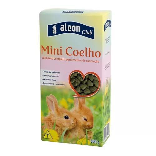Ração Alcon Club Para Mini Coelhos - 500g 0
