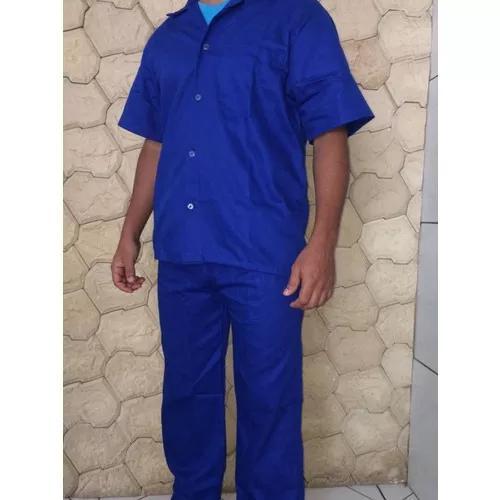 Uniforme Profissional (jalecos) Azul Ou Cinza 0