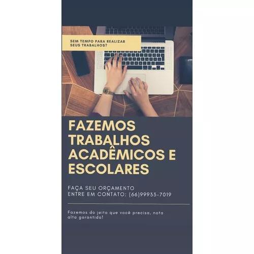 Trabalhos Acadêmicos E Escolares 0