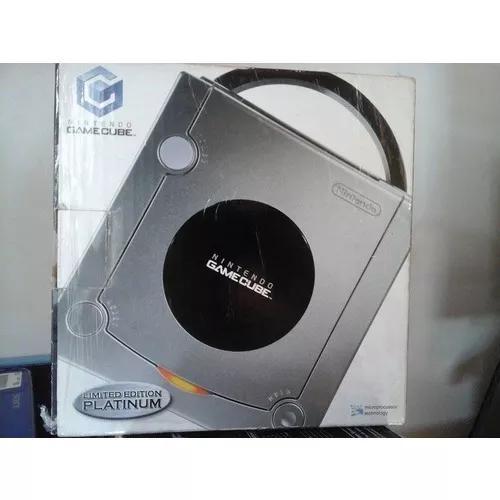 Nintendo Game Cube Platinum Edition C/ 2 Controles E Um Jogo 0