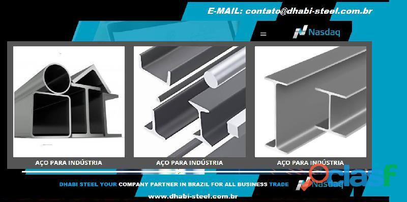 Dhabi Steel   Ferro Redondo, Barras, Cantoneiras, Vigas, Laminados 0