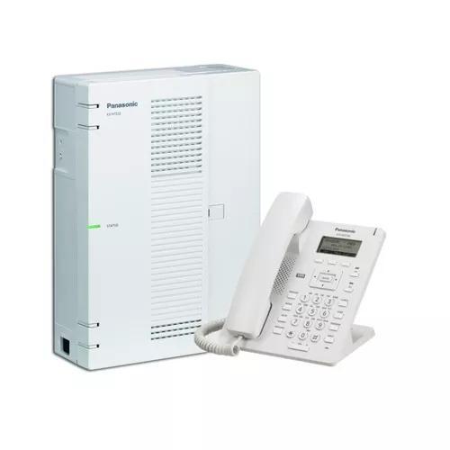 Central Pabx Ip Panasonic Kx Hts32 4 Tr. 8 Ramais + Hdv 100 0