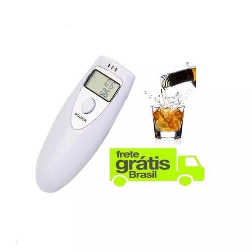 Bafometro Digital Profissional Medidor Alcool Branco C1786 0