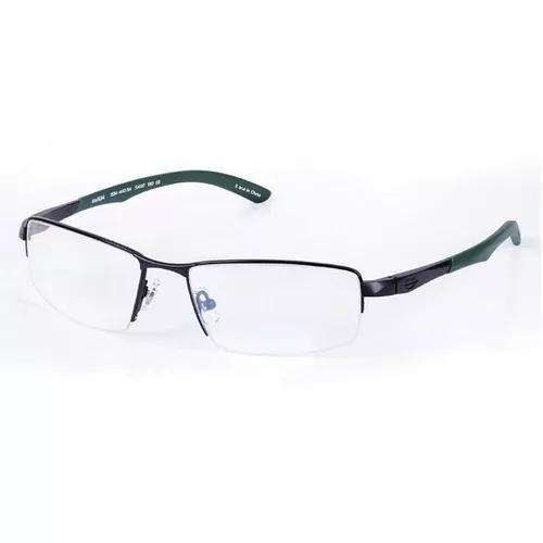 Armação Oculos Grau Mormaii 153444054 Titanio Preto Fosco 0