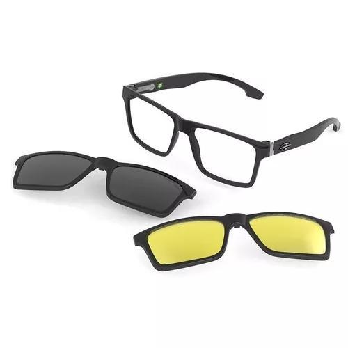 Armação Oculos Grau Mormaii Swap M6057a0256 Clip On 0