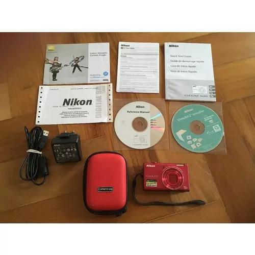 Máquina Fotográfica Nikon S6200 0