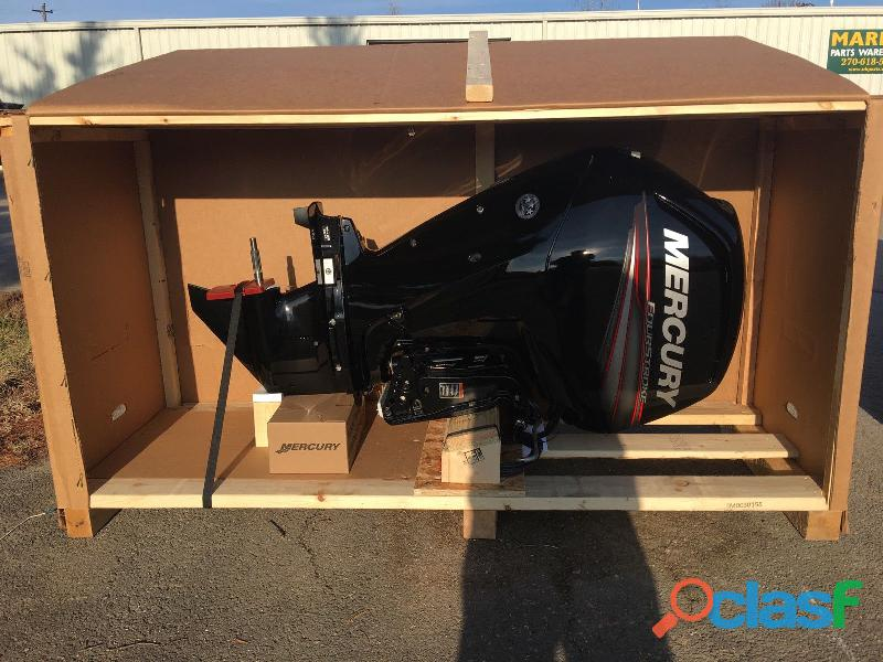 "New 2019 Mercury 90 HP 4 Cylinder 4 Stroke 20"" Outboard Motor 0"