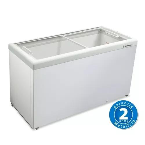 Freezer Horizontal Tampa De Vidro 563l Hf55 L - Metalfrio 0