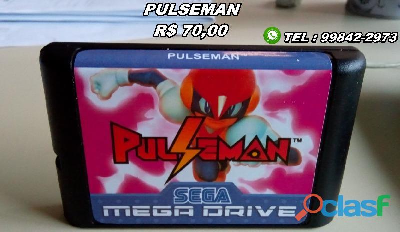 Cartuchos/fitas Mega Drive 1