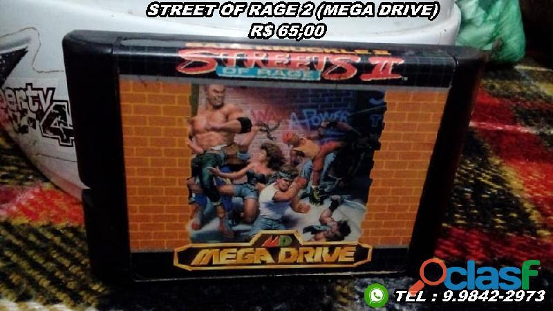 Cartuchos/fitas Mega Drive 2