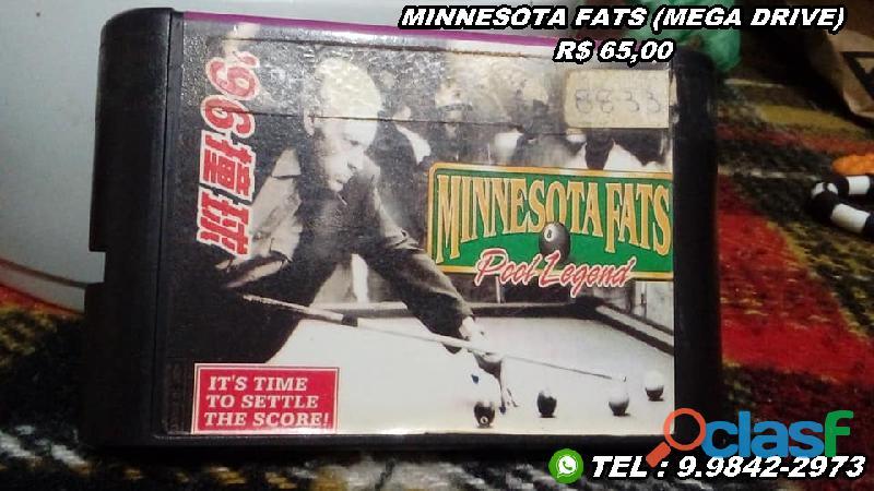 Cartuchos/fitas Mega Drive 3