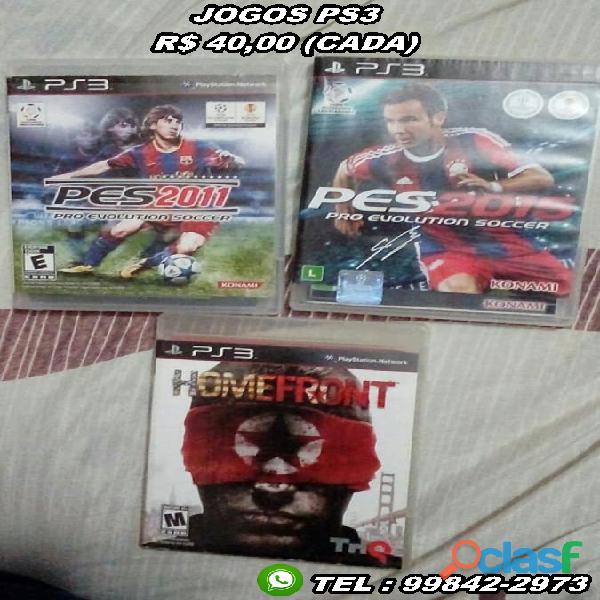 Jogos PS3 (Valores na Descricao) 0