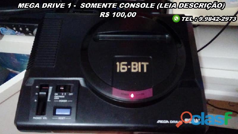 Mega Drive 1 (Leia Descrição) 0