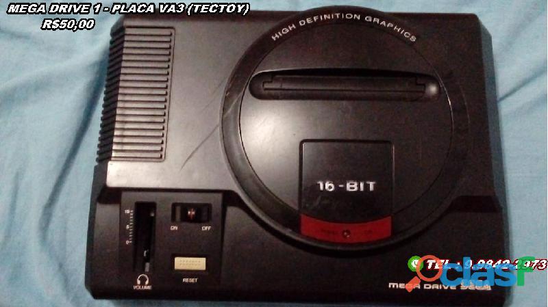 Mega Drive 1 (Leia Descrição) 1