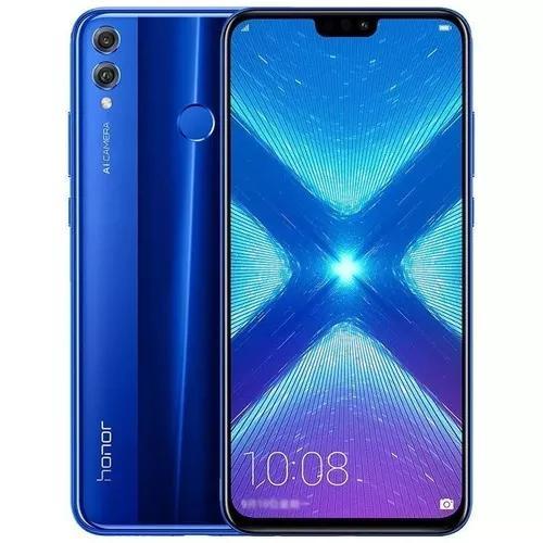 Celular Huawei Honor 8x 4gb 64gb Azul - Global + Capa Fone 0