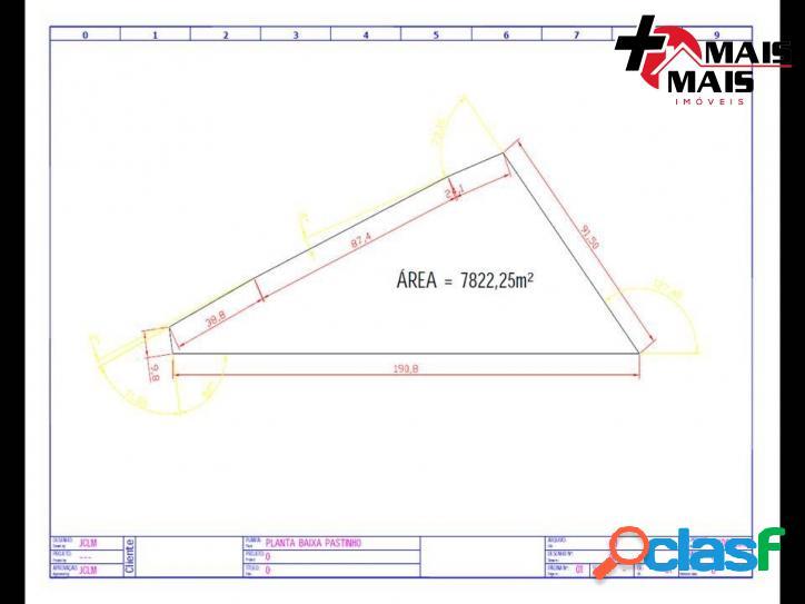 Mococa - Área 7822 m², Ideal p Loteamento, chácara ou sítio 1