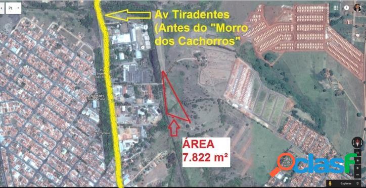Mococa - Área 7822 m², Ideal p Loteamento, chácara ou sítio 3