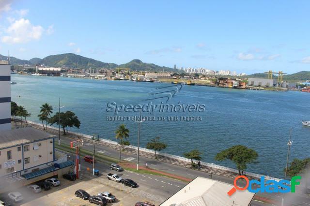 Apartamento para vender em Santos na Ponta da Praia. 0