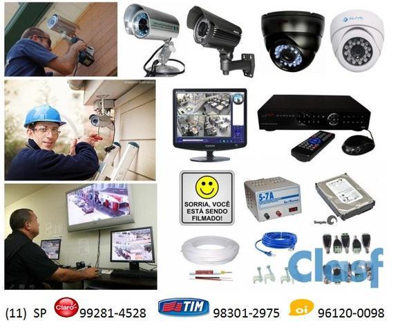 Câmeras de Segurança Instalação Suporte Manutenção 0