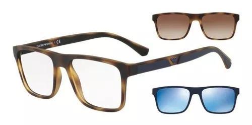 Armação Oculos Grau Clip On 0