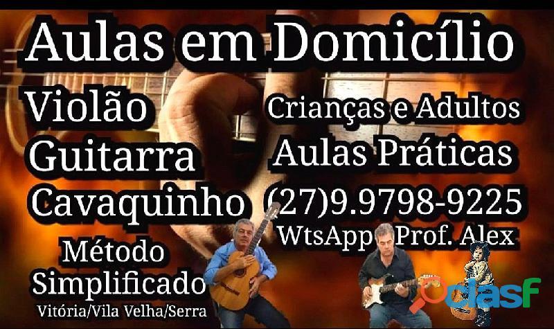 Aulas Professor Particular Violão e Guitarra Vitória ES 0