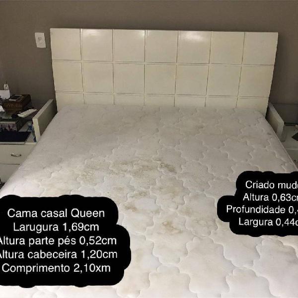 cama de casal Queen madeira maciça 0