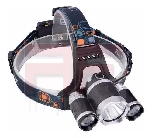 Lanterna Cabeça Triplo T6 Led Cree Profissional Swat 0