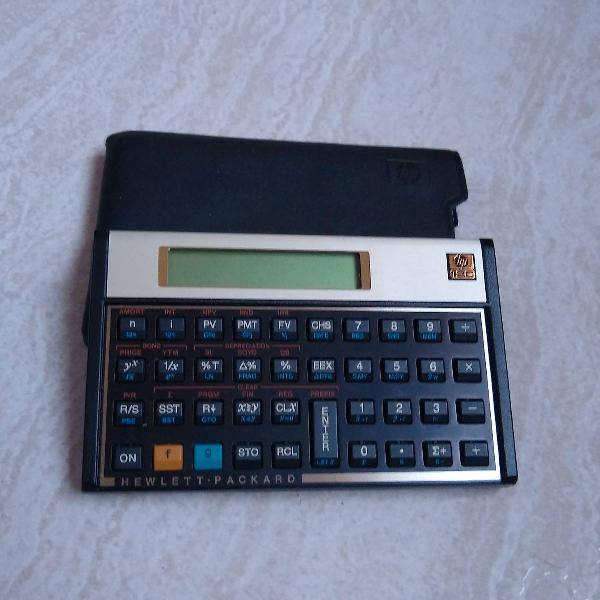 calculadora Hp 12c gold 0