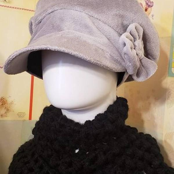 chapéu de veludo 0