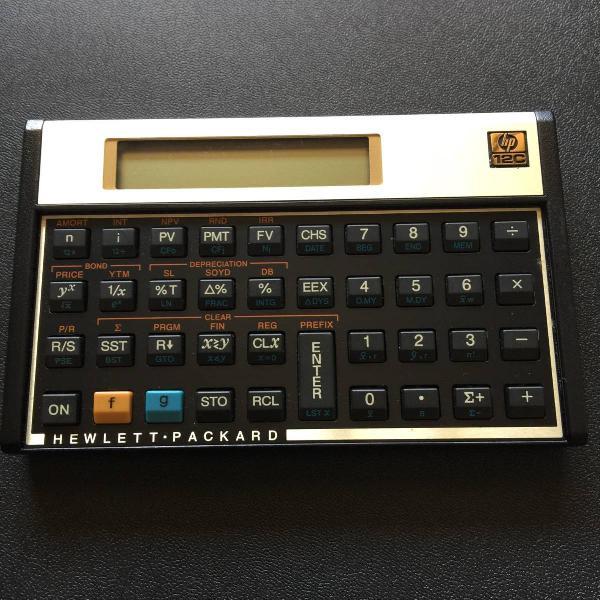calculadora financeira hp 12c 0